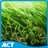 정원을%s 인공적인 잔디를 정원사 노릇을 하는 자연적인 보는 올리브 모양