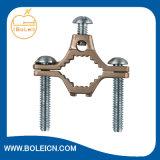 As braçadeiras do tubo de água ou de condutas de gás flexível