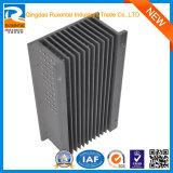 Radiateur en aluminium de pièces de rechange d'extrusion