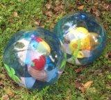 球のカスタマイズされた膨脹可能なPVC昇進のビーチボール