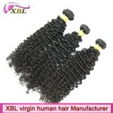 Weave человеческих волос Remy девственницы Afro Kinky бразильский