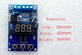 PLC доски релеего переключателя отметчика времени цикла СИД цифров 12VDC