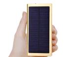 [Kingmaster] (fabbrica) (il USB doppio della Banca di energia solare 5-7.4$) 8000mAh con caricatore chiaro 10000mAh 20000mAh della Banca di potere di arrivo del LED il nuovo può fare l'altra capienza