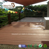 Decking ULTRAVIOLETA compuesto plástico de madera al aire libre de la resistencia WPC del surtidor de Guangdong