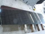 La Mongolie Noir/poli de granit noir absolu/flammé/perfectionné pour les carreaux de dalles de granit/comptoir/vanité haut/Plan de travail