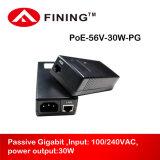 l'adattatore passivo dell'iniettore di Poe di gigabit 56V0.54A per il IP senza fili di Aps telefona le macchine fotografiche