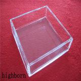 Tamaño Personalizado transparente de vidrio de sílice Calefacción Caja de Petri