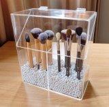 Support de balai clair personnalisé par modèle professionnel de compartiment de l'acrylique 3