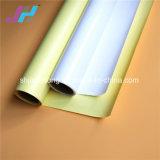 Brillant et mat Film de plastification à froid en PVC blanc du papier de chemise