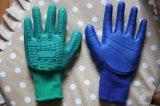 Перчатку покрынную PVC с TPR, перчатку удара Анти--Удара, длину можно подгонять