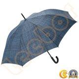 長くまっすぐなホックの自動個人化された男性用特大傘