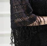 O OEM New Fashion Lace Hollow pendão V-T-shirt Senhoras do Colar