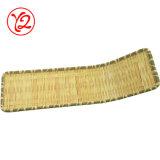 Fábrica de envases de plástico de melamina vajillas de cerámica de la placa como bambú