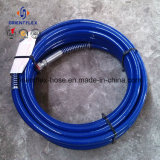 Manguito de goma de la alta de Pressue trenza flexible de la fibra (SAE100 R7/R8)