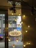 Lámpara pendiente colgante clara de interior moderna de la iluminación de la bola de cristal