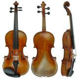 Европейский материал старинной отделкой Cremona скрипка с пламенем клена