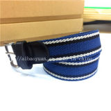 Multi-Color Intercolor Alloy with Textile Belt Leather Accessories with Belt Leather