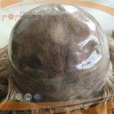 Perruque bouclée profonde de plein lacet brésilien (PPG-l-0299)