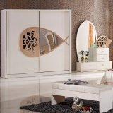 Het Meubilair van de Slaapkamer van de reproductie met Antiek Bed (3380)
