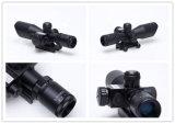 Mini espaço vermelho do rifle da caça do alvo da vista do espaço do laser 2.5-10X40