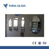 Silver/aluminio/cobre libre //baño/Mosaico biselado antiguo///Seguridad/decorativo espejo solar