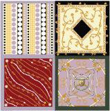 Seide der Patchwork-Art-Quadrat-Schal-100%
