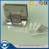 Charnière en verre de douche de porte de salle de bains de pivot de bride de porte d'acier inoxydable