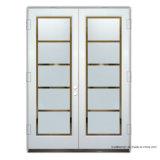 Il vetro Tempered pieno matrice del Lite in-Oscilla i doppi portelli del patio
