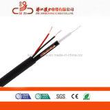 Цена на заводе Linan коаксиальный кабель RG59 + 2c кабель питания 75 Ом