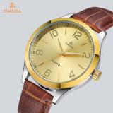 I Mens di modo impermeabilizzano gli orologi del quarzo con cuoio genuino 72931