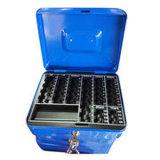 Progettare la casella per il cliente sicura dei contanti del contenitore di mini soldi della vendita