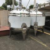 Réservoir d'avoirs et de stockage de lait d'acier inoxydable avec le mélangeur
