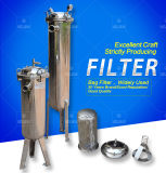 Tipo filtro do saco do tratamento da água da proteção ambiental