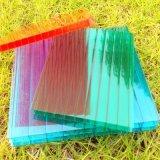 Parede dupla flexível de lexan Folha de policarbonato oco para decoração