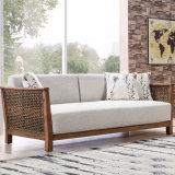 Mobilia stabilita B03-3 del sofà del rattan della mobilia del salone
