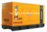звукоизоляционный тепловозный генератор 250kw с генератором двигателя Yuchai молчком