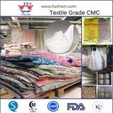 Celulose Carboxymethyl de sódio da classe de matéria têxtil do CMC Hv/LV