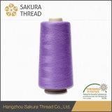 Sakura Oeko-Tex Prix raisonnable 100% fil de couture en polyester moulé