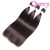 Cheveu droit pur brésilien d'usine normale de cheveux humains de 100%