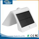 Luz solar caliente plástica del jardín del blanco LED de IP65 1.5W