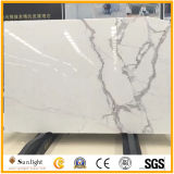 カウンタートップ、床または壁の装飾のためのイタリア磨かれたArabescatoの白い大理石