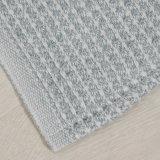 새로운 형식 털실은 Chambray 와플 직물 면 담요를 염색했다