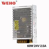 Zhejiang Weho S-60W Ein-Output24V Gleichstrom-Versorgung