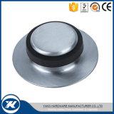 Fußboden - eingehangener Badezimmer-Edelstahl-Gummitür-Stopper
