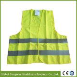 Fabricação de profissionais de segurança de poliéster colete reflector de Estrada
