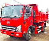 Tigre chiara dell'autocarro con cassone ribaltabile V, 4 tonnellate di autocarro a cassone, 4 tonnellate di scaricatore, autocarro con cassone ribaltabile di 4tons FAW