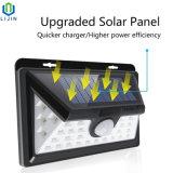 34 LEDの屋外の太陽動きセンサーの壁ライト