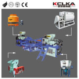 3 цветной ПВХ верхний/единственной машины литьевого формования