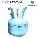 Refrigerante R134A gas en el cilindro desechable 13,6kg.
