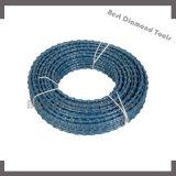 Пластичный провод диаманта для мрамора и гранита вырезывания для формировать, придающ квадратную форму, профилировать, скашивая